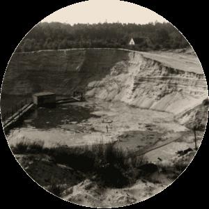 Die Sandgrube Brink in den 60er Jahren