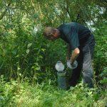 Regelmäßige Überprüfung des Wasserstandes und der Brunnen